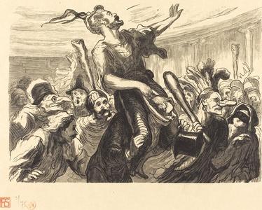 La Mi-Careme - Au bal de l'Opera