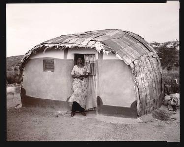 Somali Woman, USA House, Ethiopia