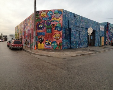 Wynwood walls, NW 27th street and 3rd avenue, Miami