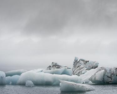 Luminous Icescape No.19