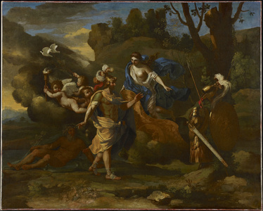 Venus, Mother of Aeneas, Presenting Him with Arms Forged by Vulcan
