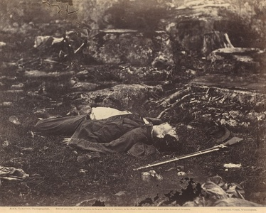 A Sharpshooter's Last Sleep, Gettysburg, Pennsylvania, July 1863