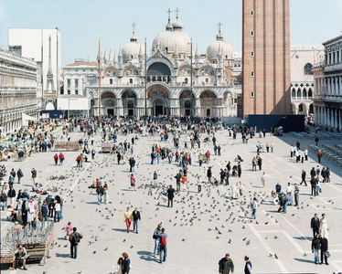 """27 Venezia San Marco from """"A Portfolio of Landscapes With Figures"""