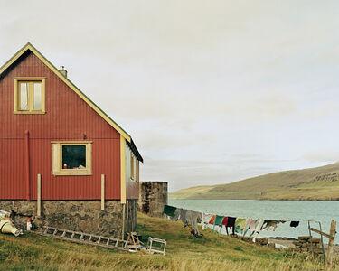 Drying Laundry, Esturoy, Faroe Islands