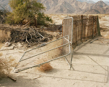 Leaning Fence