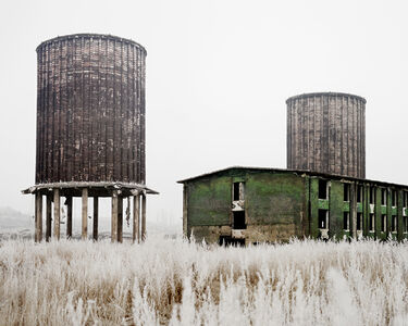 Abandoned Factory (Near Hunedoara, West Romania), 2011, from the series Notes for an Epilogue