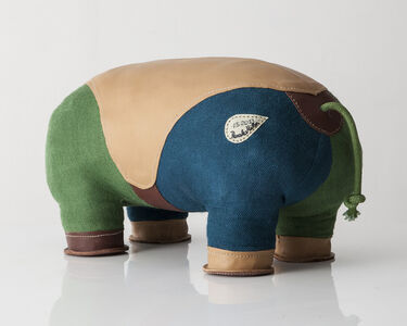 "Double-tail ""Therapeutic Toy"" Hippopotamus"
