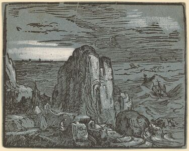 Cliff on the Seashore