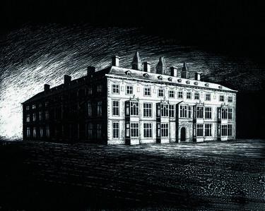 The East Facade of Hamstead Marshall House
