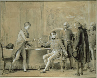 La Signature du Concordat aux Tuileries 15 juillet 1801 (The Signing of the Concordat at the Tuileries, 15 July 1801)