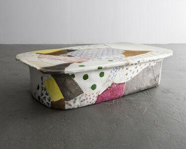 Low Table in Glazed Ceramic