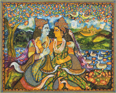Draupadi and Arjun