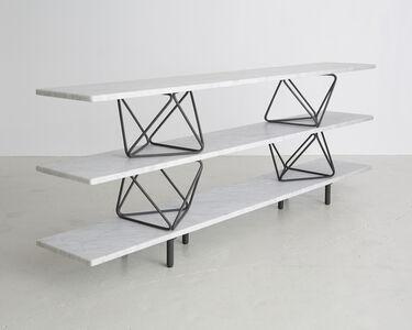 """Octahedron"" shelves"