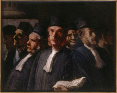 Les Avocats (The Lawyers)