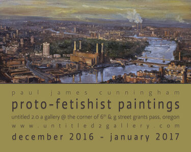 Exhibition Poster: Proto-Fetishist Paintings