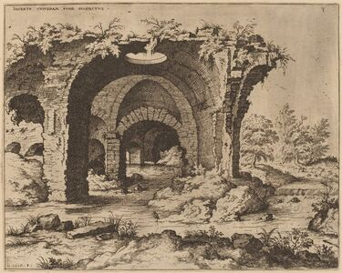 View of Unidentified Ruins