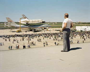 The Space Shuttle Columbia Lands at Kelly Lachland Air Force Base, San Antonio, Texas, March 1979