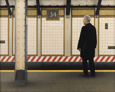 My Father in the Subway III (34th Street)