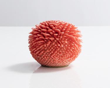 Unique, Hand-thrown Urchin Accretion