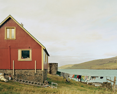 Drying Laundry, Esturoy, Faroe Islands