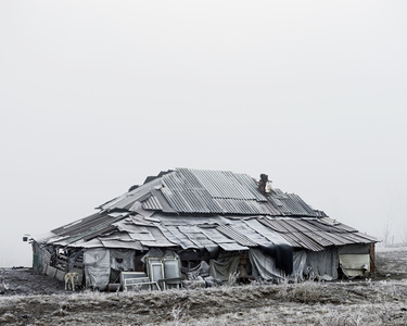 Farmhouse (near Silvasu de Sus, West Romania), 2011, from the series Notes for an Epilogue