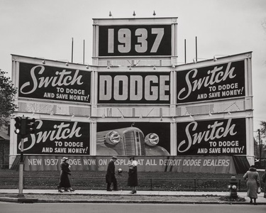 Switch to Dodge, Detroit