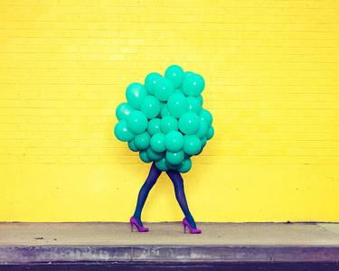 Je Ne Suis Pas Seul Sans Toi (Green Balloons)