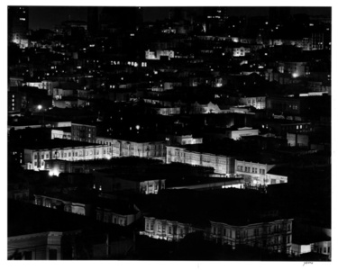 Night View from Coit Tower, San Francisco