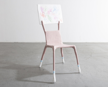 """I'm a Woman Not an Object,"" Child Chair"