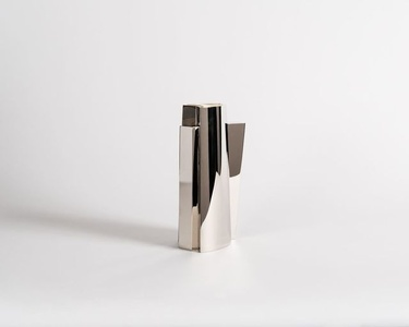 Arco, Contemporary Metal Vase