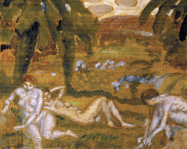 Three Nude Figures, Giverny