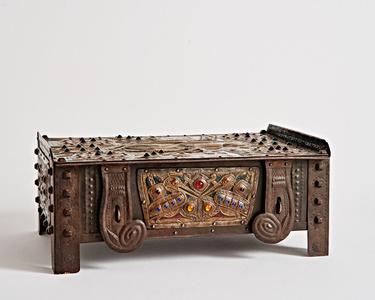 Pentecost Jeweled Metal Box