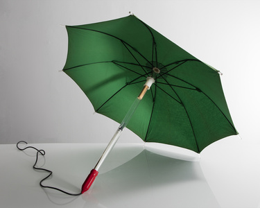Illuminated Wearable Umbrella Sculpture