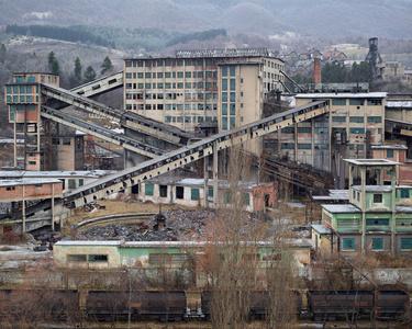 Lupeni Coal Mine (Lupeni, Central Romania), 2014