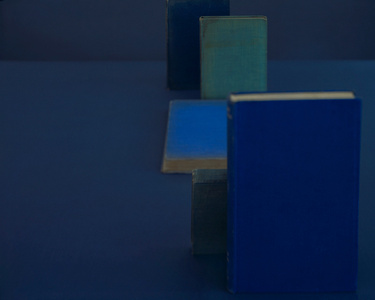 Diebenkorn Blues, from the series Blue Books