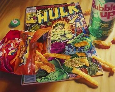 Cheetos/Hulk