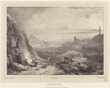 Edimbourg vu de la Chapelle Saint-Antoine