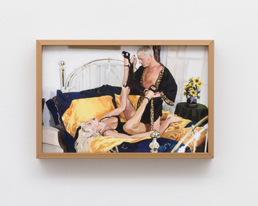 The Golden Age: Untitled (Couple with Sunflowers)