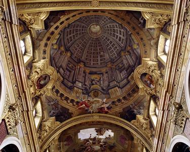 Jesuitenkirche, Wien, Architekt Andrea Pozzo