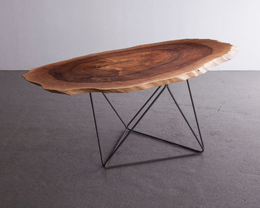 """Octahedron"" dining table"