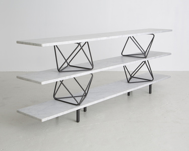 """Octahedron"" shelves"
