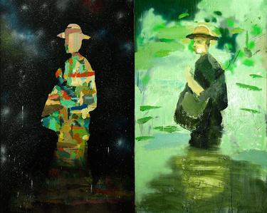Diptych, El campenauta & El pescador