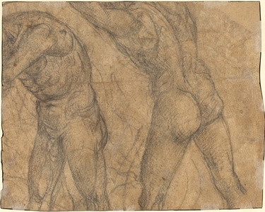 Two Nude Figures [verso]