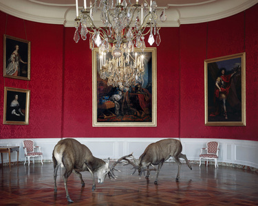 """The Kings Reception.From the series """"Fables"""""""