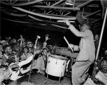 Lionel Hampton, The Hippodrome, Beale Street, Memphis, TN, mid 1950's