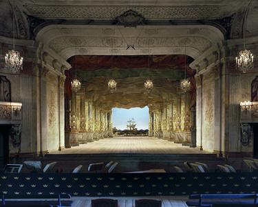 Slottsteater, Drottningholm Palace Theatre, Stockholm, Sweden