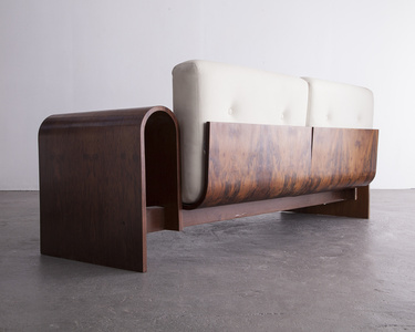 Two-seat sofa for the SESC hotel, 1990