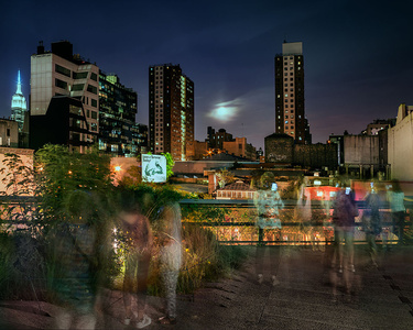 Super Moon on the High Line