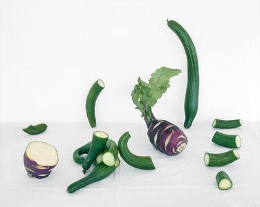 Cucumber and Kohlrabi