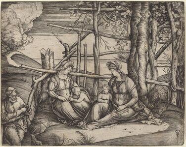 Holy Family with Saint Elizabeth and the Infant Saint John the Baptist